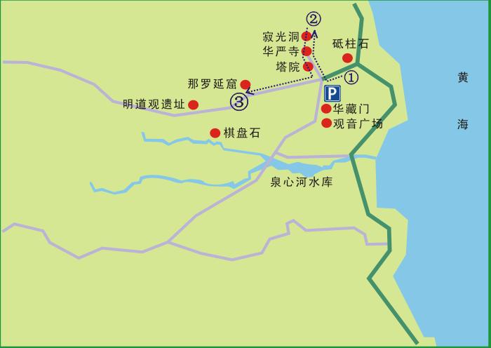 青岛崂山,崂山旅游线路,崂山旅游攻略