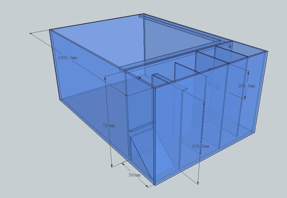 户外锦鲤鱼池的设计图