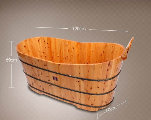 美容院木质泡浴桶,spa浴盆