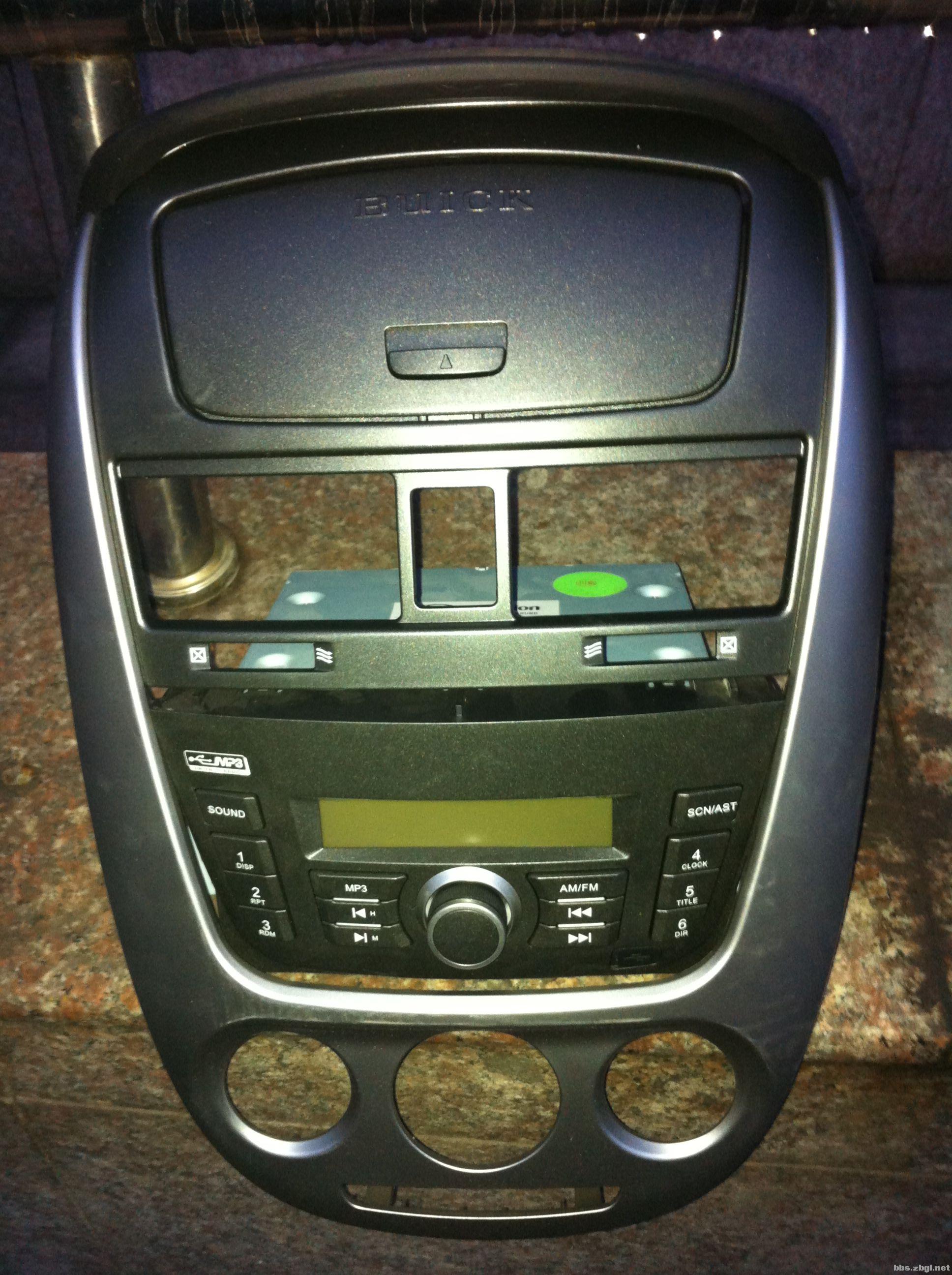 别克凯越全新全新汽车收音机高清图片