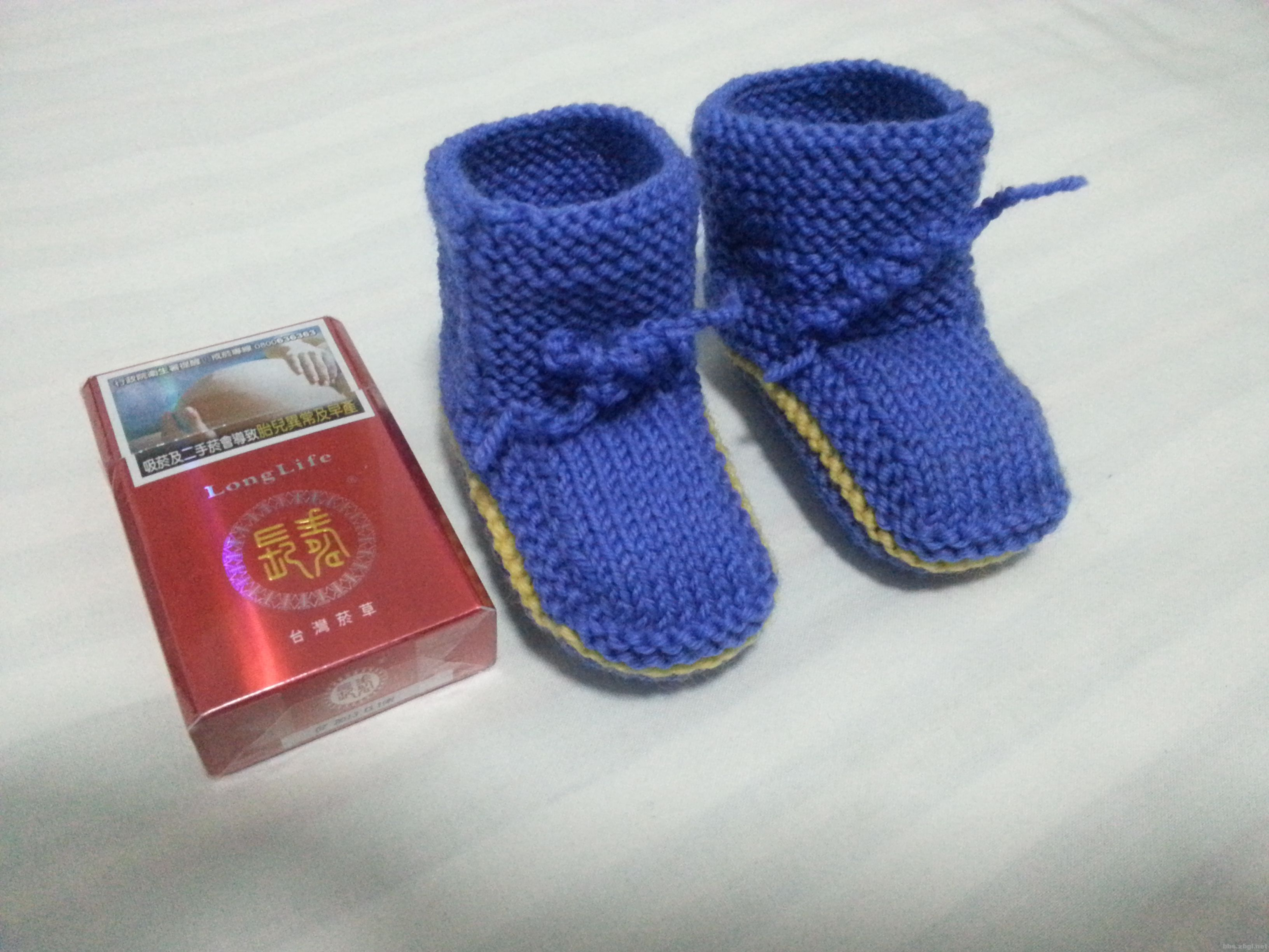 出售手工宝宝毛线鞋