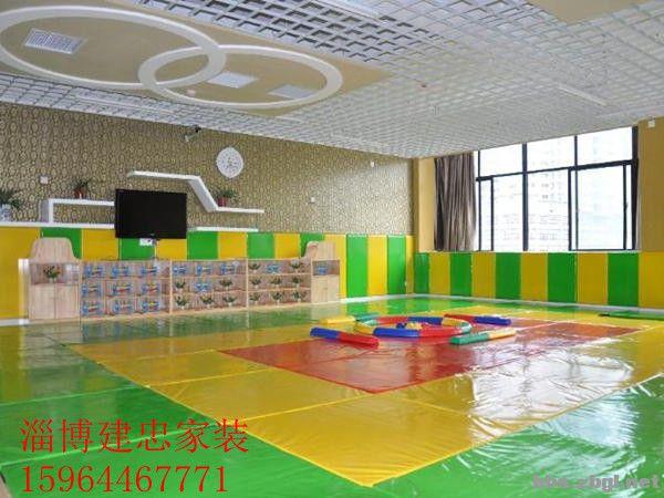 幼儿园墙面设计森林动物开会