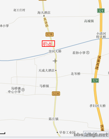 淄博市高青县卫星地图