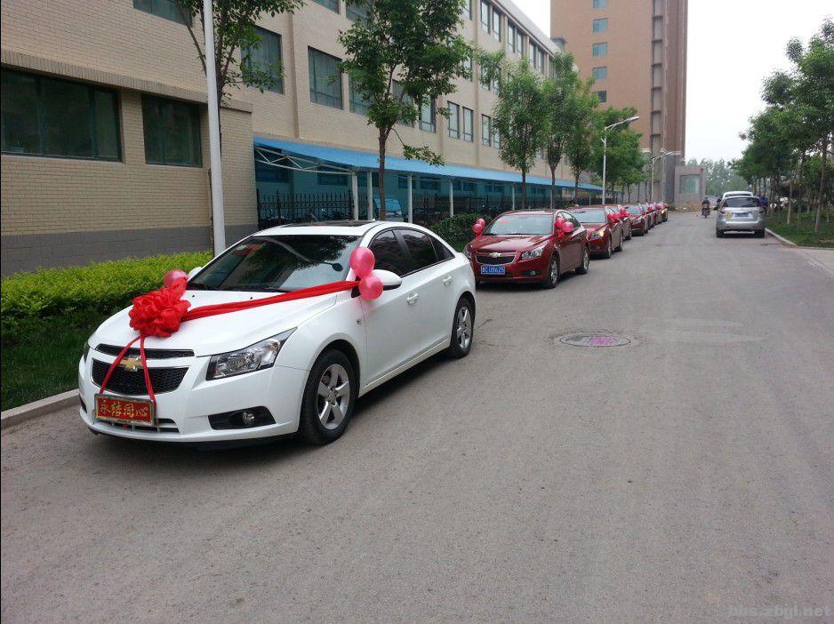 红色 科鲁兹 -- 张店红色科鲁兹婚庆车队为您服务
