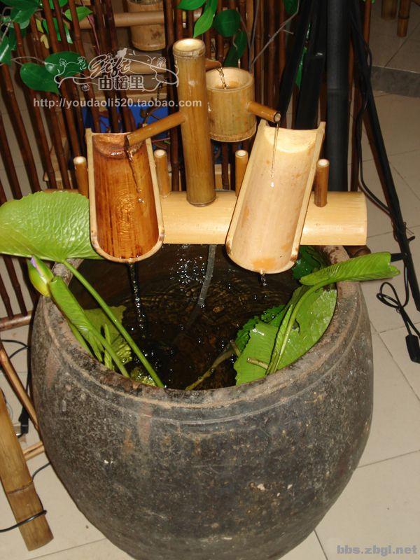 定做各种竹子流水加湿器
