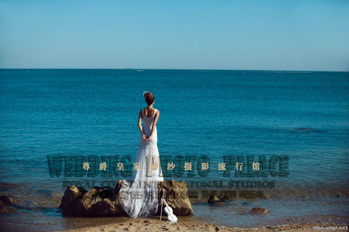 【6月海景婚纱照】 让天空大海来见证爱情!大连海景婚纱摄影