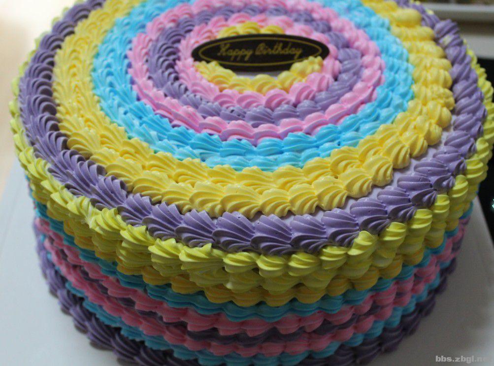 淄博独家专业制作彩虹蛋糕图片
