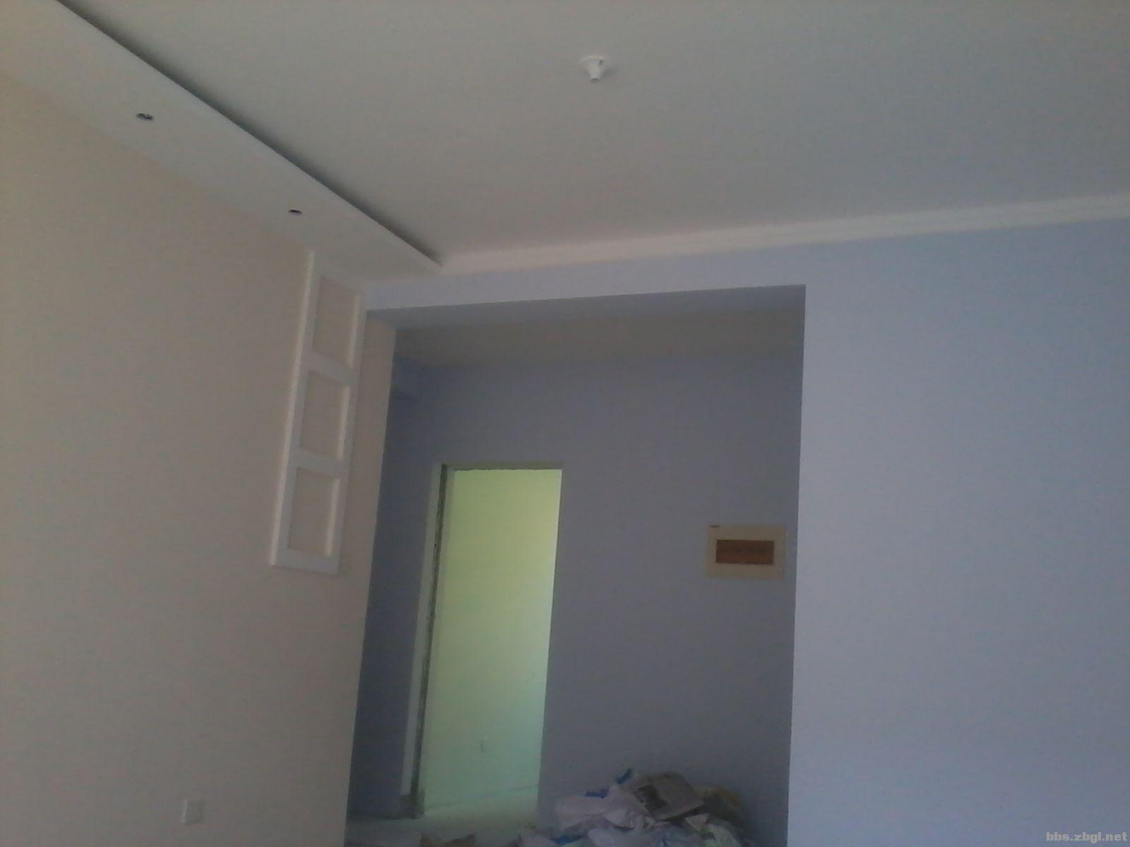 乳胶漆墙面喷涂 施工【专不专业看图说话