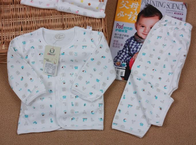福安贝贝新生儿内衣套装0 6个月图片