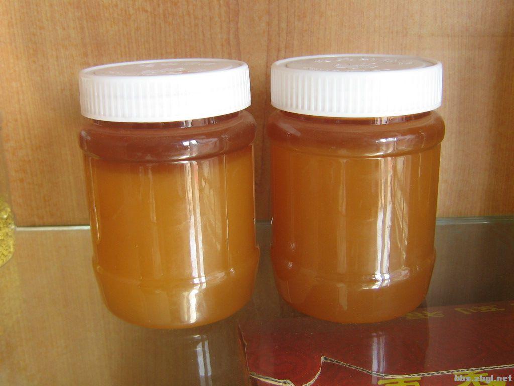蜂蜜结晶分层