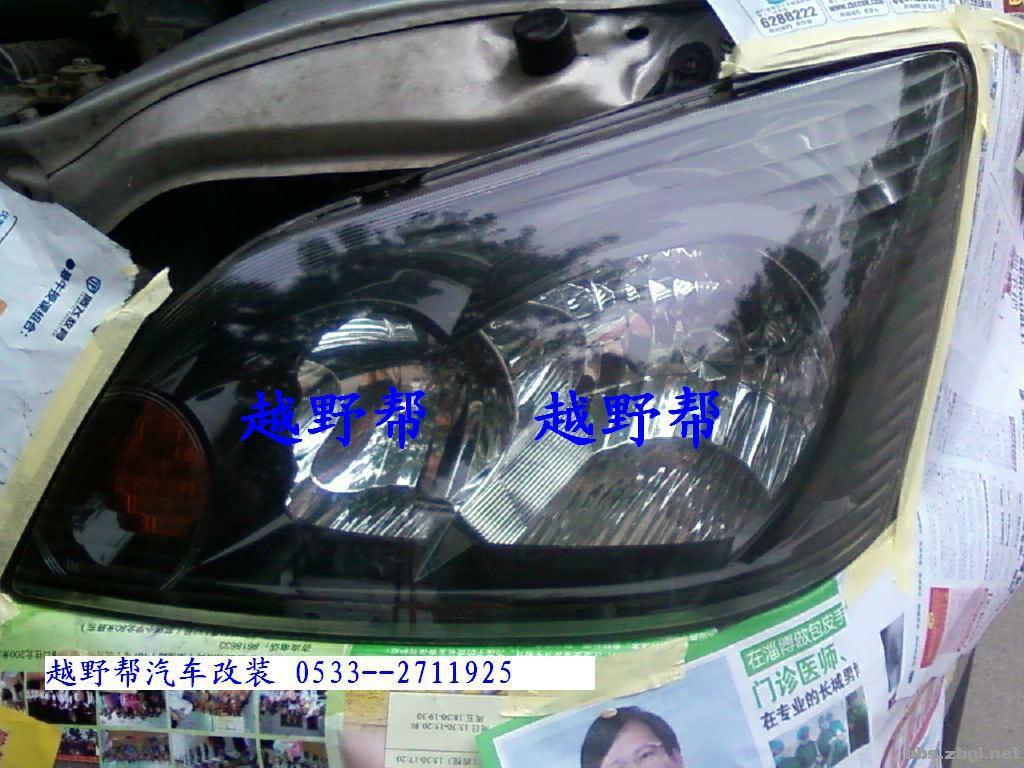 汽车大灯翻新修复(多图)