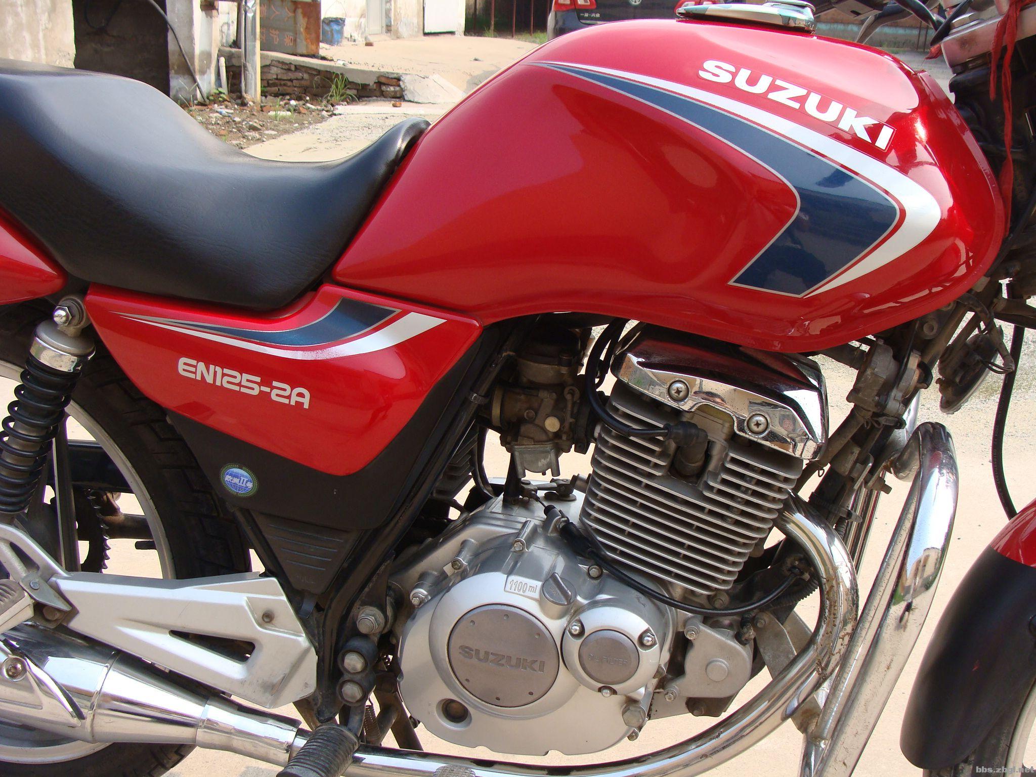 心爱坐骑豪爵铃木en125-2a摩托车