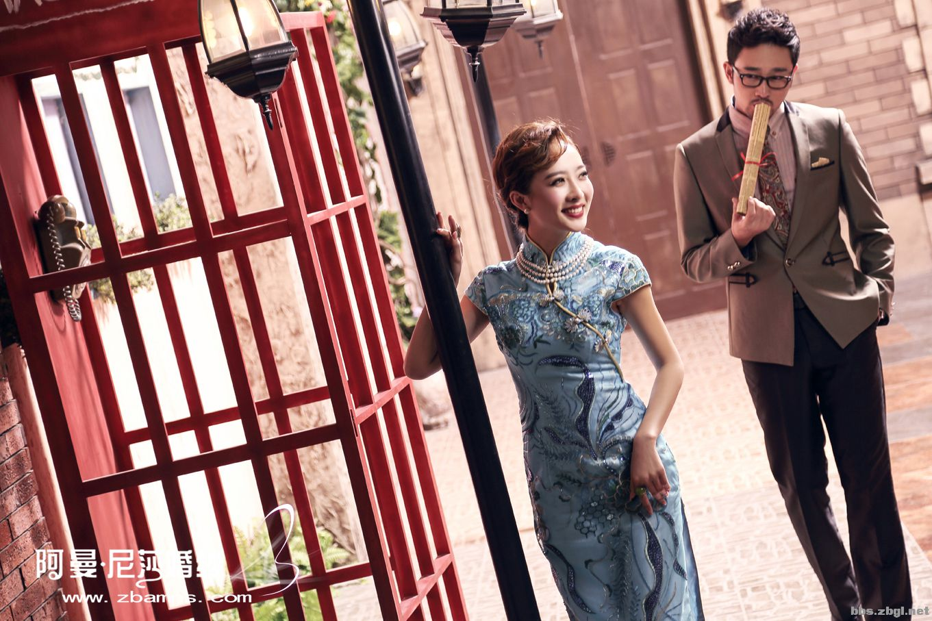 【阿曼尼莎婚纱摄影】----花样年华