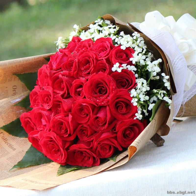 8月2号七夕节鲜花预定15966961530,各种颜色玫瑰花等您来选,爱心花社图片