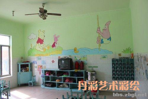 幼儿园教室彩绘
