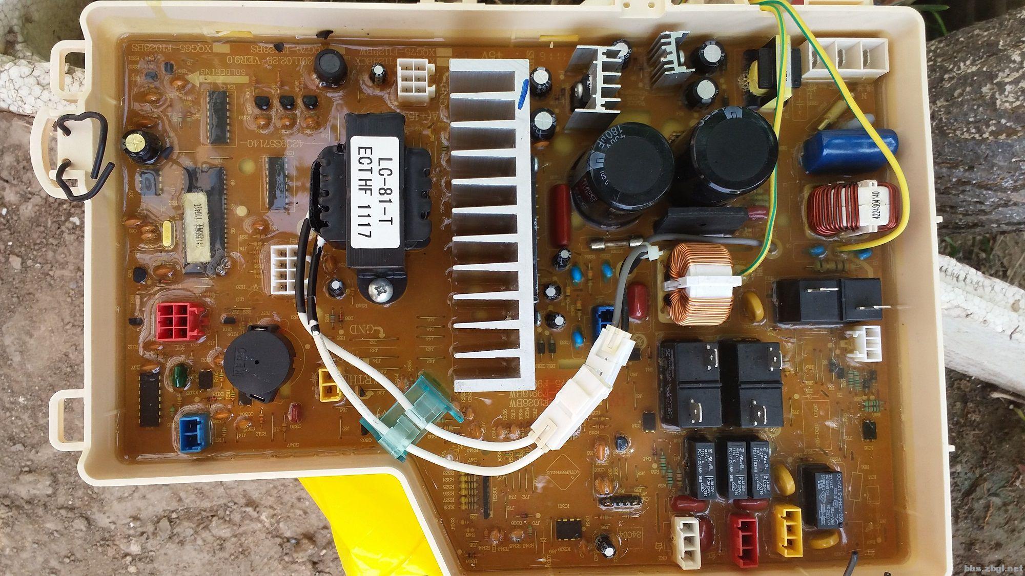 三洋滚筒洗衣机电脑主板的