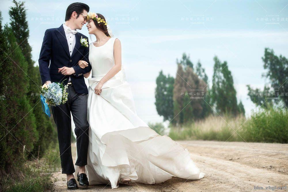 新新娘婚纱摄影照片_新娘婚纱图片