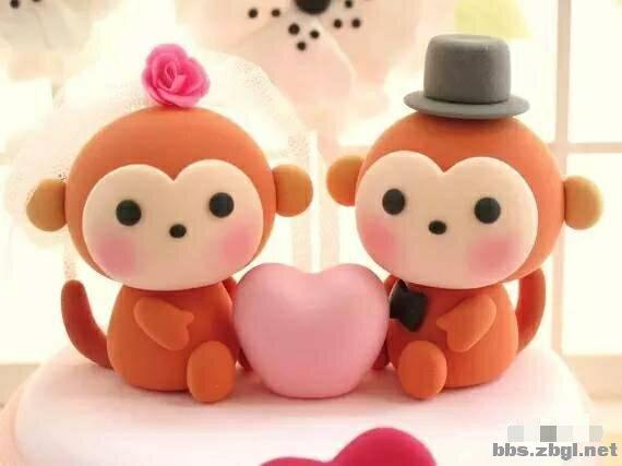qq可爱小猴表