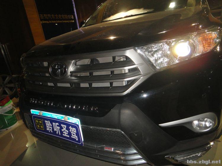 2016新款七座丰田汉兰达改装芬朗高端功放4100一台 聆听圣驾汽车音高清图片