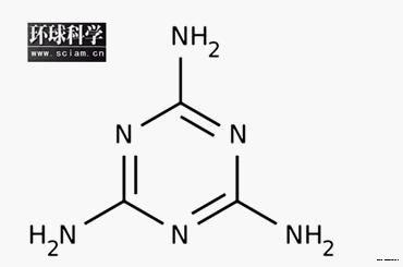 三聚氰胺化学结构 性质
