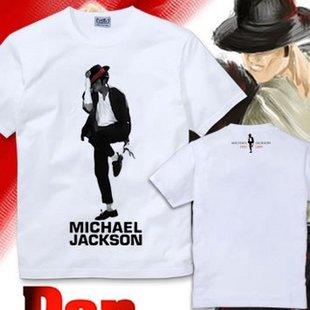 迈克杰克逊等人的纪念t恤