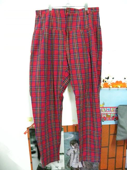 转或换3条裤子