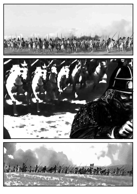 《窃明》最后一战:遵化阻击战漫画版连载