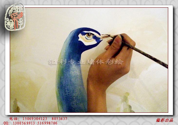 手绘油画步骤图片