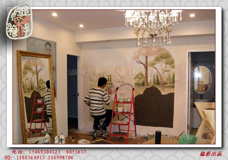 欧式家具3d墙绘