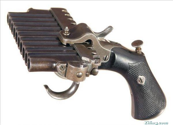 许你没见过这些怪异的老枪